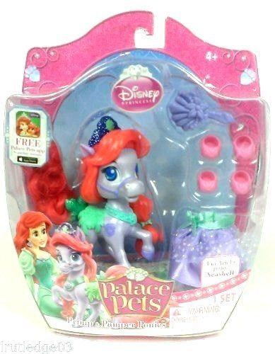 Disney Palace Pets Primp Pamper Ponies Ariel S Pony Seashell Bnip 24651 Princess Palace Pets Disney Princess Palace Pets Palace Pets
