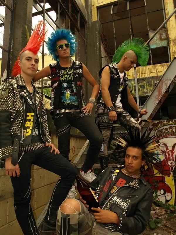 Acidez Punk Goth Punk Punk Guys