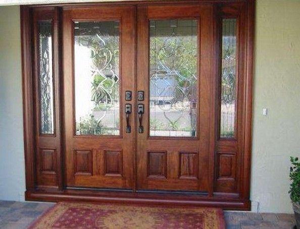 Commercial Wood Double Doors Design Inspiration - Interior ...