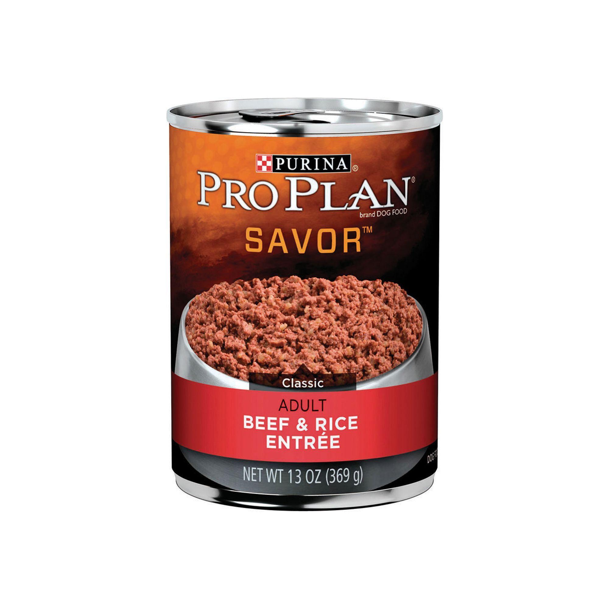 Purina Pro Plan Savor Adult Dog Food Size 13 Oz Copper Gum Zinc