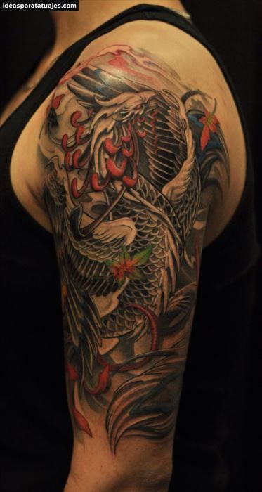 Ideas Para Tatuajes De Ave Fénix Para Hombres Ideas Para Tatuajes