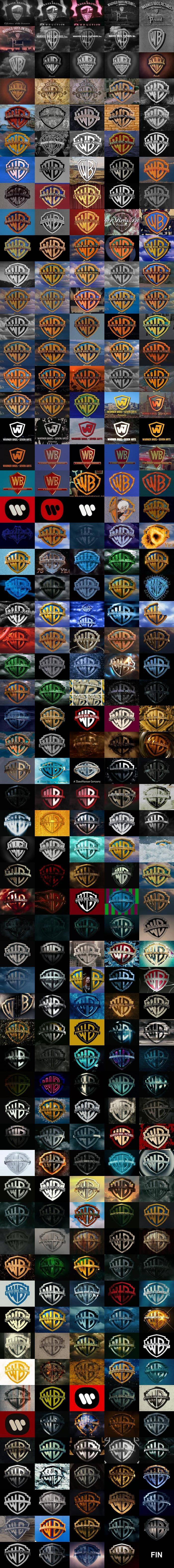 Warner Bros Logo History (1923 - 2014)