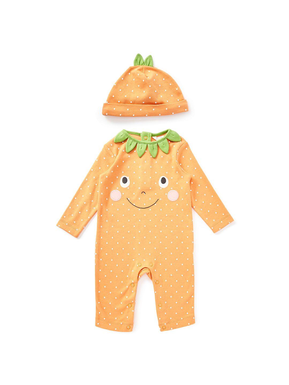 31e7f5fad3d4 BuyJohn Lewis   Partners Baby Pumpkin Romper and Hat
