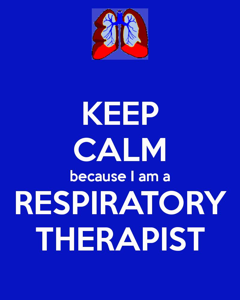 My Job Respiratory Respiratory Therapist Respiratory Therapy