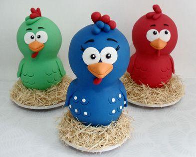 Share Tweet Pin Mail  A criançada AMA! Esta galinha é uma POP STAR! Umas idéias de festinha….créditos abaixo!    Cheio de ...