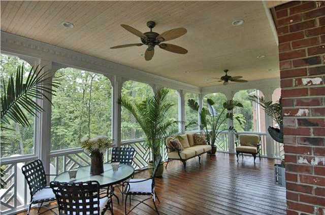 beautiful custom porches designed and built by synergy outdoor ... - Covered Screened Patio Designs
