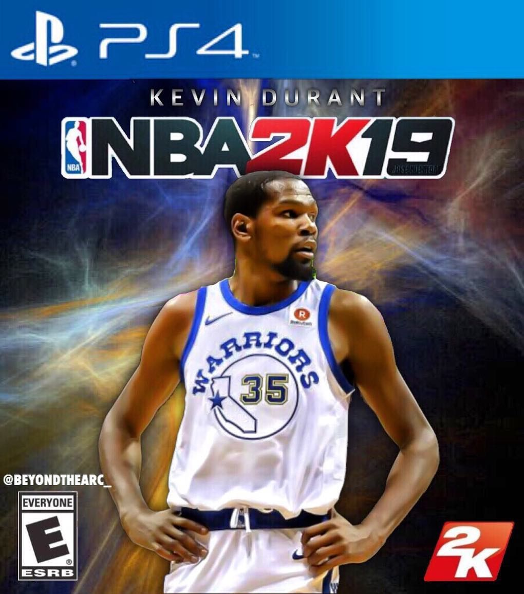 748803cb927 Custom @kevindurant NBA 2K Cover - - - #kd #kevindurant #kd35 #mvp  #warriors #goldenstate #goldenstateofmind #goldenstatewarriors #2k #nba2k  #nba2k18 ...
