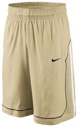 Purdue Boilermakers Old Gold Nike Authentic On-Court Basketball Shorts