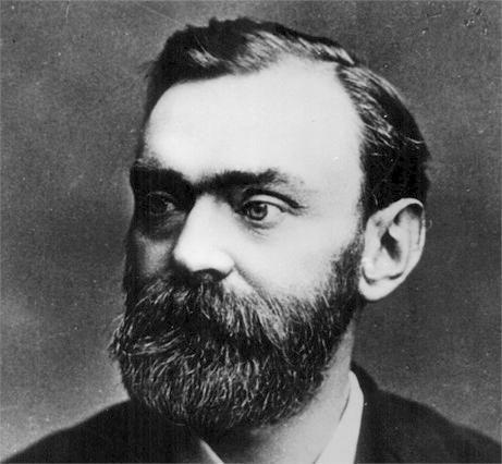 Alfred Bernhard Nobel foi um químico e inventor sueco, conhecido por inventar a Dinamite.