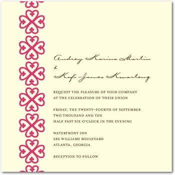 nyame dua - wedding invitations dream wedding Pinterest - invitation designs