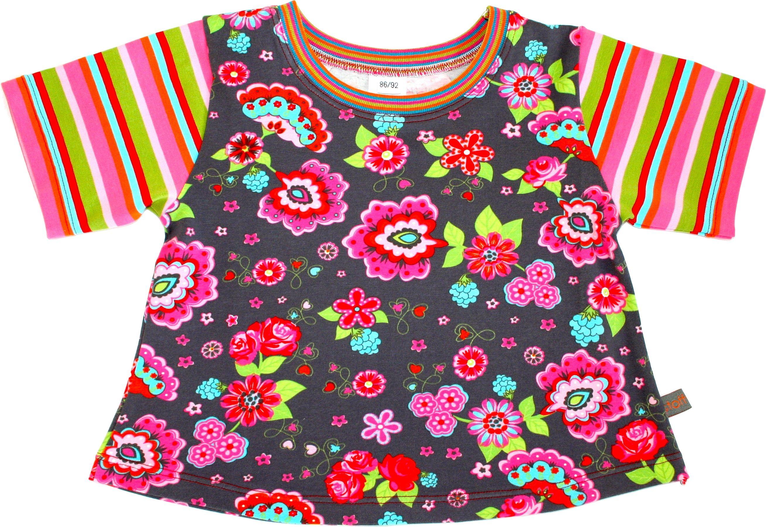 "Mädchenshirt ""Blumenmeer"""