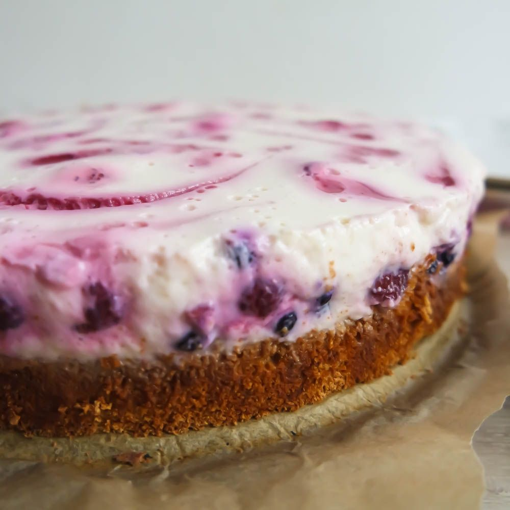 Joghurt kuchen low fat