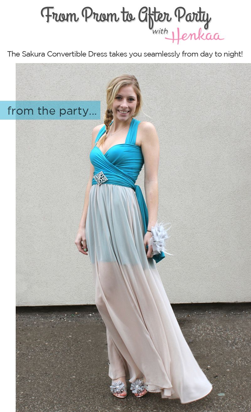 A Dress that Changes with You | Convertible, Infinity and Special ...