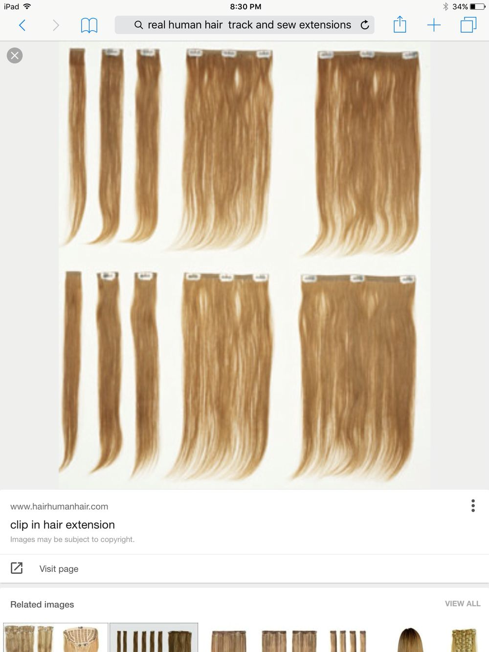 Real Track And See Extensions Human Hair Extensions Pinterest