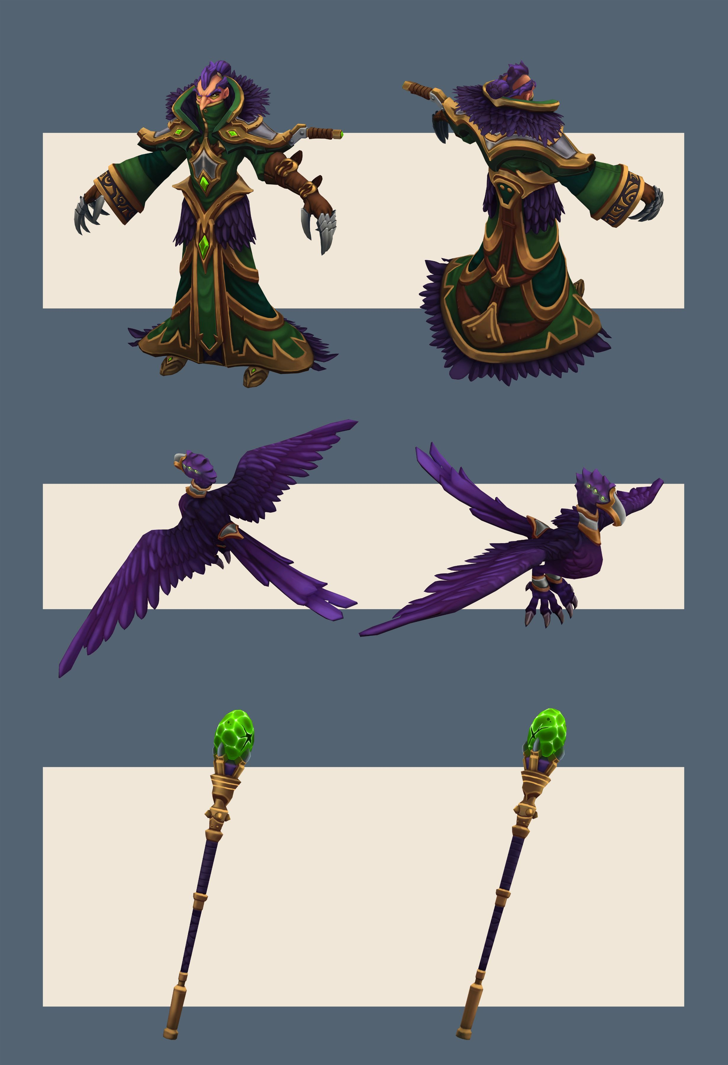 [Riot Art Contest] - Swain Redesign - Polycount Forum