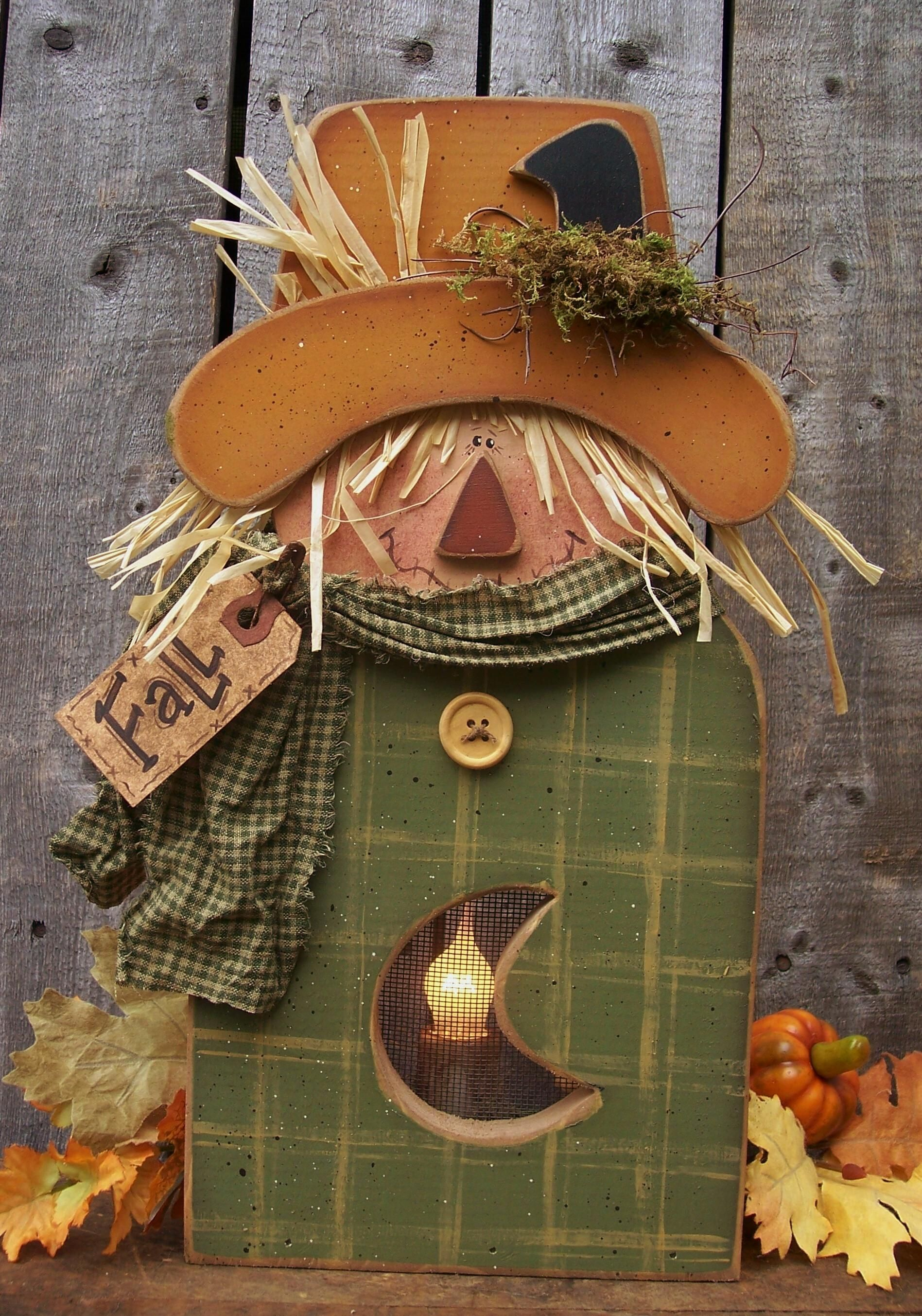 Pattern K137 This Is Such A Cute Scarecrow It Takes An