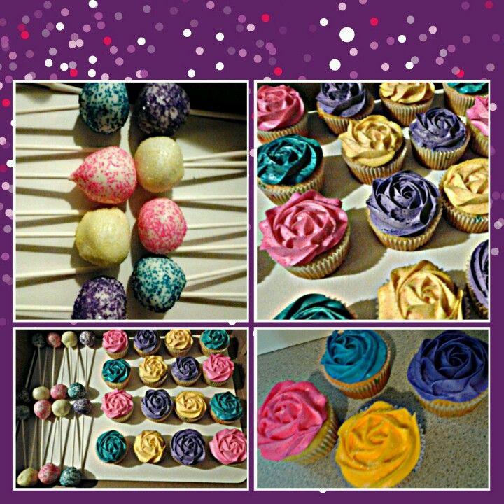 Fun cupcakes  & cake pops