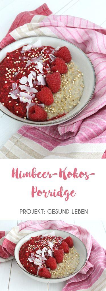 rezept himbeer kokos porridge zuckerfrei challenge phase. Black Bedroom Furniture Sets. Home Design Ideas