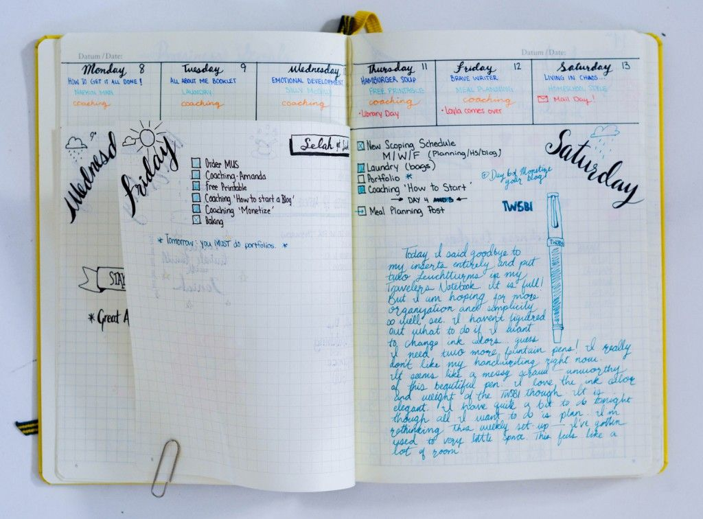 8 daily bullet journal layout ideas for your planner simple bullet journal and dutch. Black Bedroom Furniture Sets. Home Design Ideas