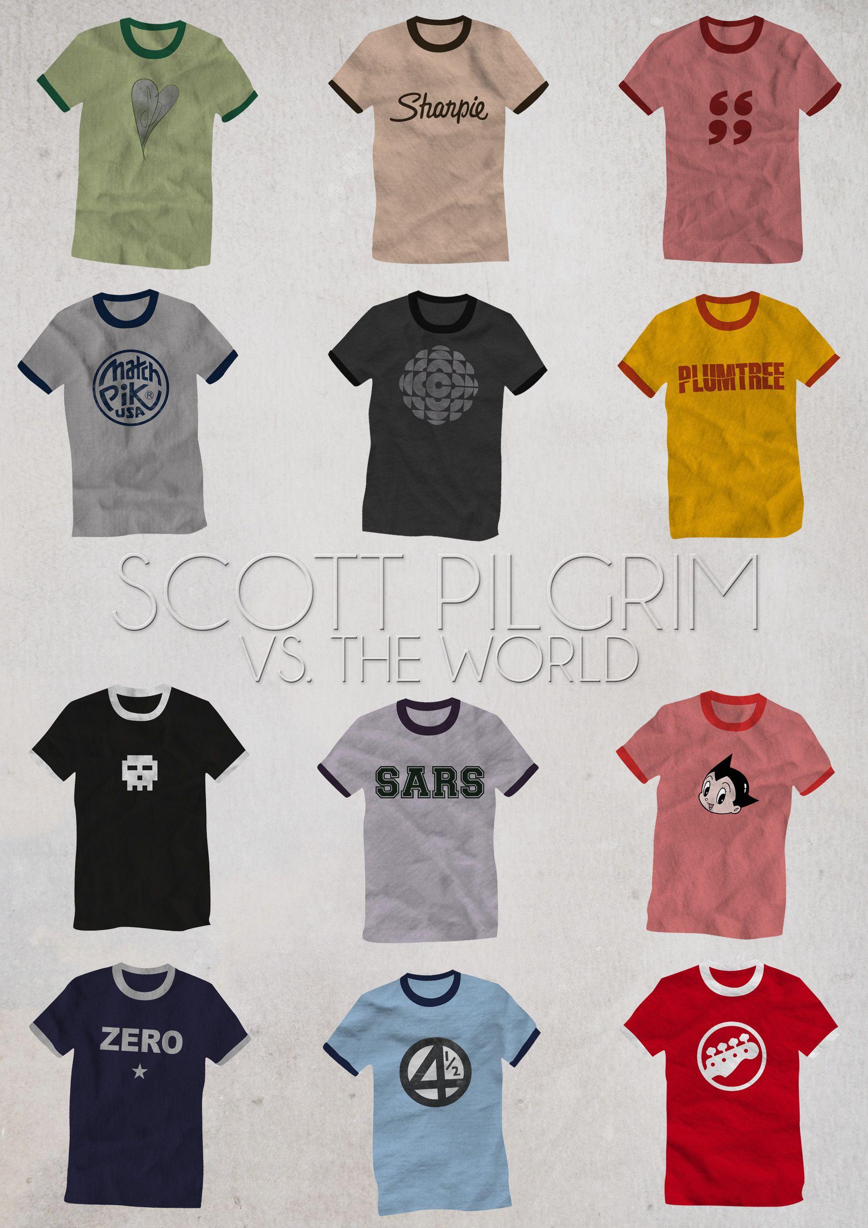 Scott Pilgrim Rockin Youth T-shirt