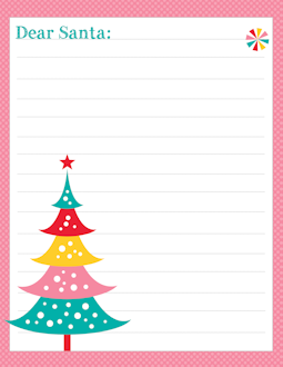 Freebie free letter to santa templates notes to or from santa santa pinkdots free letter to santa template spiritdancerdesigns Images