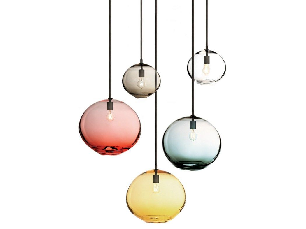Paul Lampen Float Pendelleuchte By Sklo Design Karen Gilbert Paul Pavlak