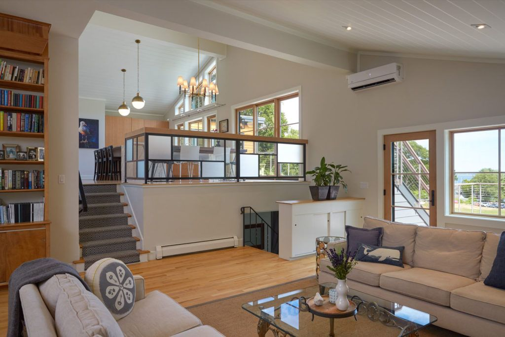 Mid-Century Modern home remodel addition open floor plan ...