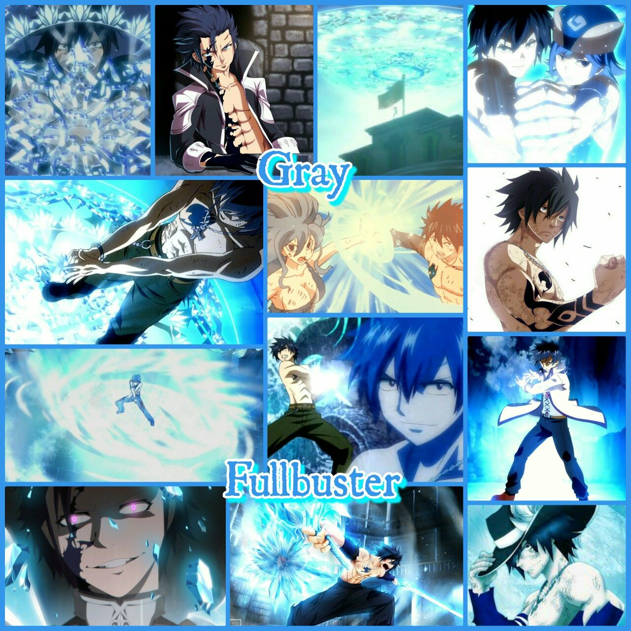 New And Improved Gray Fullbuster Grid Enjoy The Ice Mage S Unique