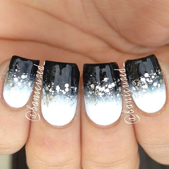 Top 100 Nail Art Ideas That You Will Love Black White
