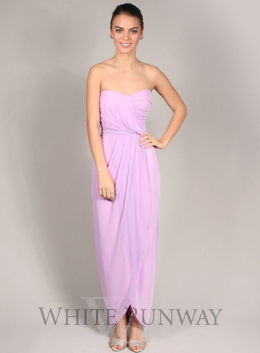 Adrietta dress a gorgeous tulip shaped bridesmaid dress by samantha