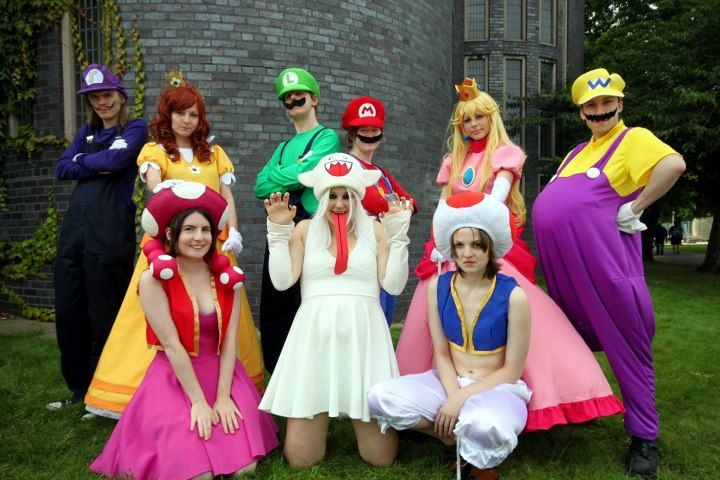 Group Mario Costumes Best Group Halloween Costumes Themed