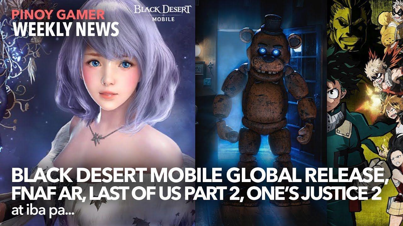 Black Desert Mobile Global Release Date FNAF AR Special