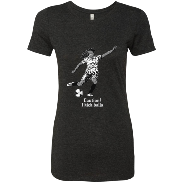 Do you love soccer? You're going to love our T-shirts!  Passion for Soccer - Next Level Ladies Triblend T-Shirt - $22.99