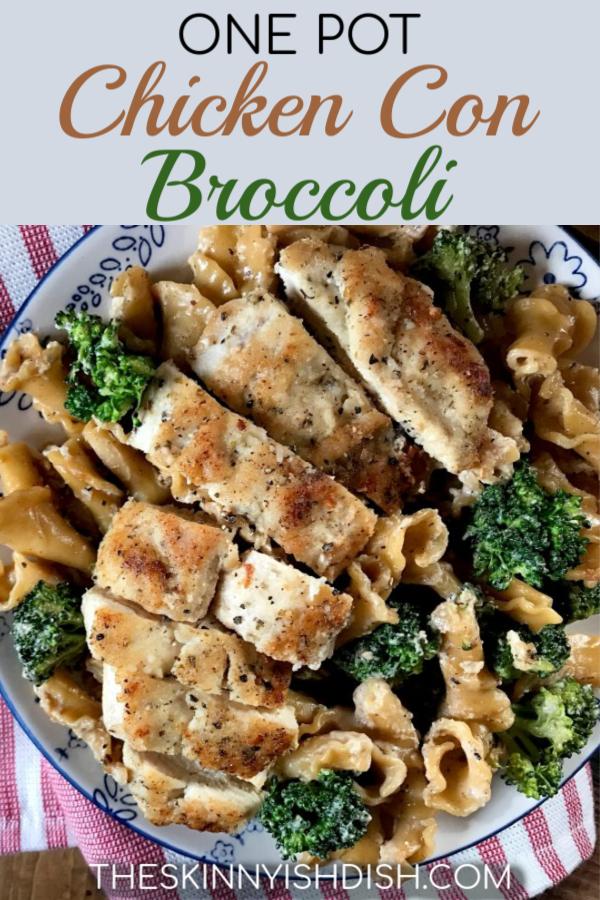 My One Pot Chicken Con Broccoli Is A Delicious Garlic Herb -2866