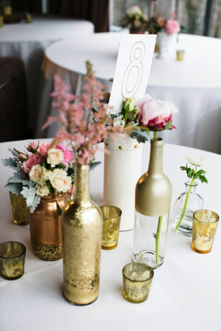 Diy Vintage Wedding Decorations