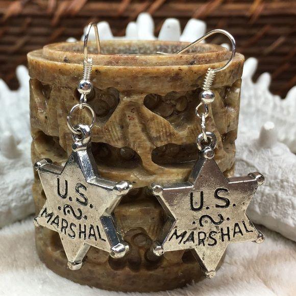 U.S. Marshal Earrings