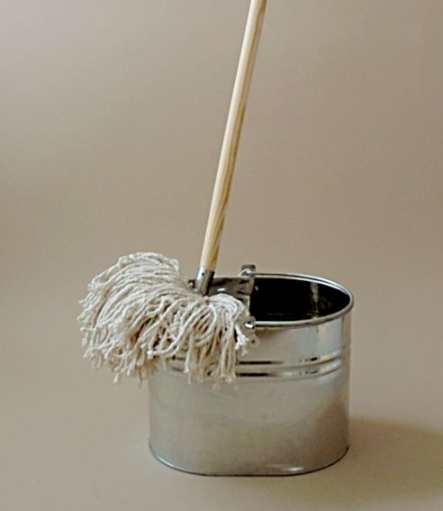 The Traditional Mop Head Is Made From Heavy Weight 16 Ply
