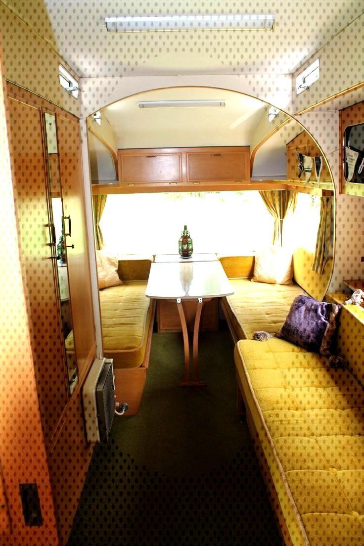 43 Vintage Caravan Interiors Old Campers Remodel -  43 Vintage Caravan Interiors Old Campers Remode