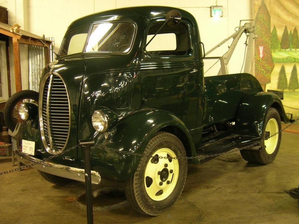 Dieselpunk steampunk art 1940 ford coe tow truck dieselpunks