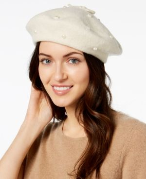 d68e898086adc kate spade new york Imitation Pearl Beret -