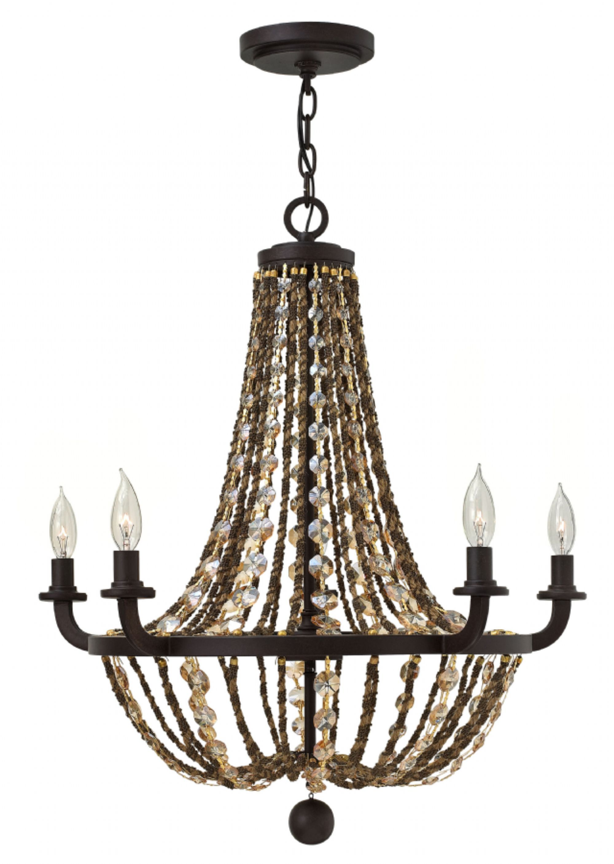 Hinkley Lighting carries many Vintage Bronze Hamlet Chandeliers
