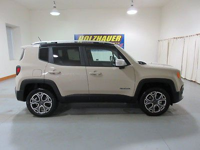 Ebay Jeep Renegade Limited 2016 Jeep Renegade Limited Brown 4 X 4 Limited 4 Dr Suv 16766 Miles Jeep Jeeplife Usdeals Rssd Suv Car Maintenance Jeep Renegade