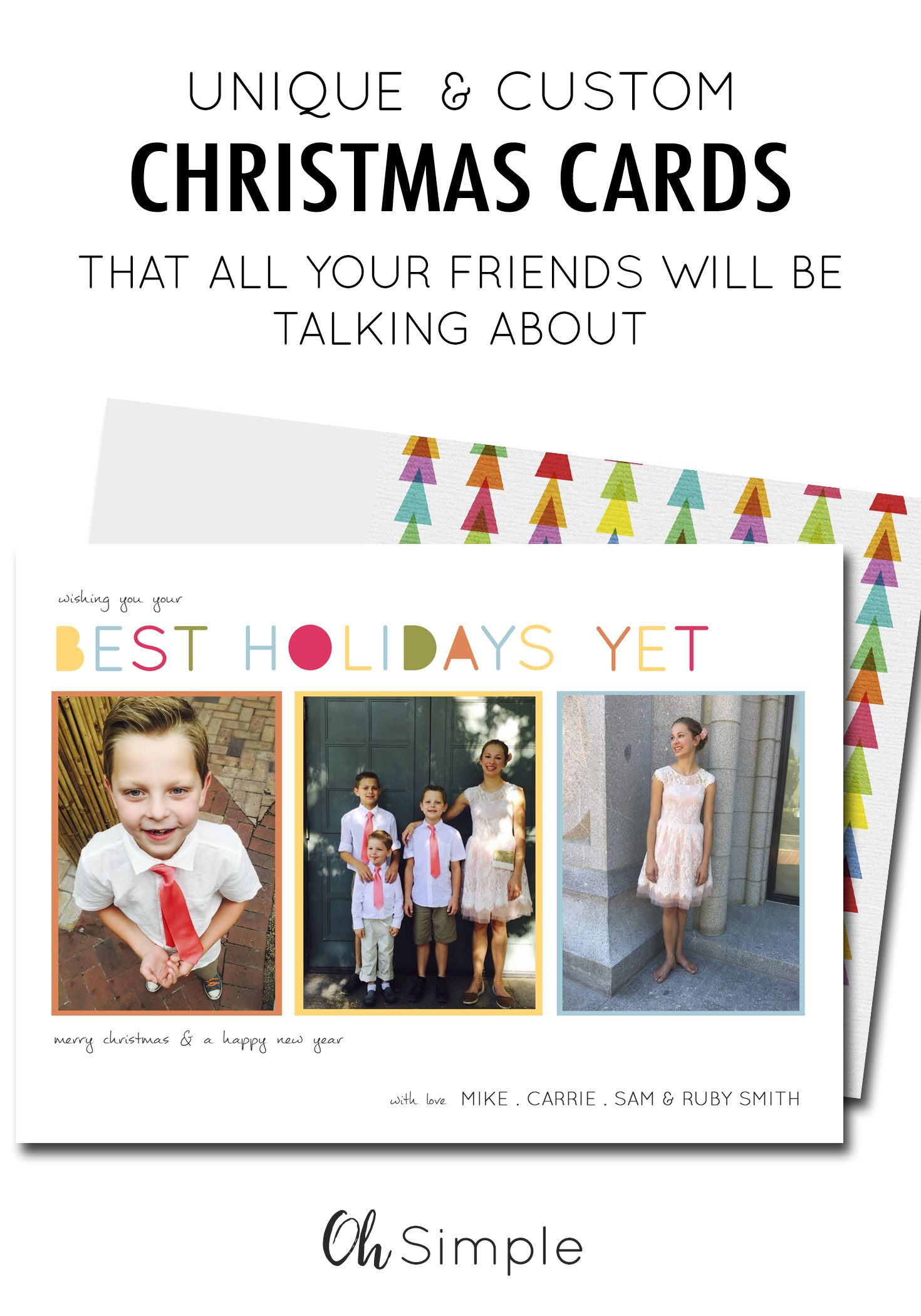 Holiday Cards with Photos   Christmas Cards   New Years Card ...