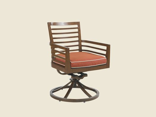 Ocean Club Pacifica Swivel Rocker Dining Chair Tommy Bahama