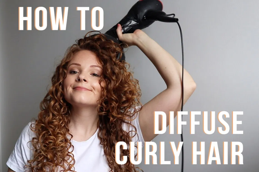 Diffusing Vs Air Drying Curly Hair Tips Biancareneetoday Dry Curly Hair Hair Diffuser Curly Hair Styles