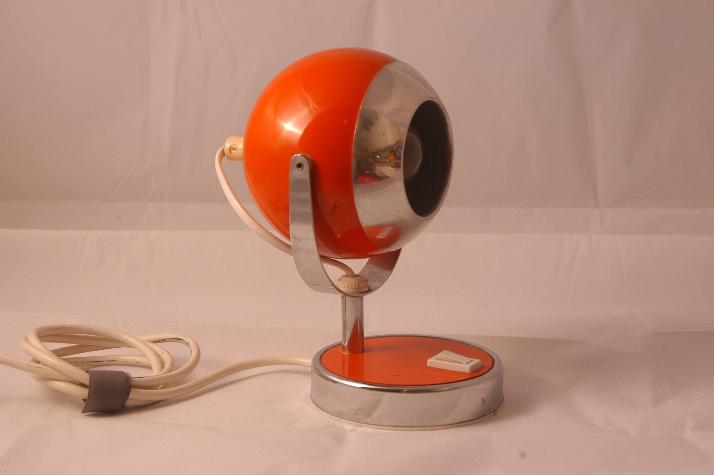 Space Age Tisch Strahlen Aus Den 70er Jahren Mid Century Modern Schreibtischlampe Lamp Modern Desk Lamp Mid Century Modern Desk Lamp