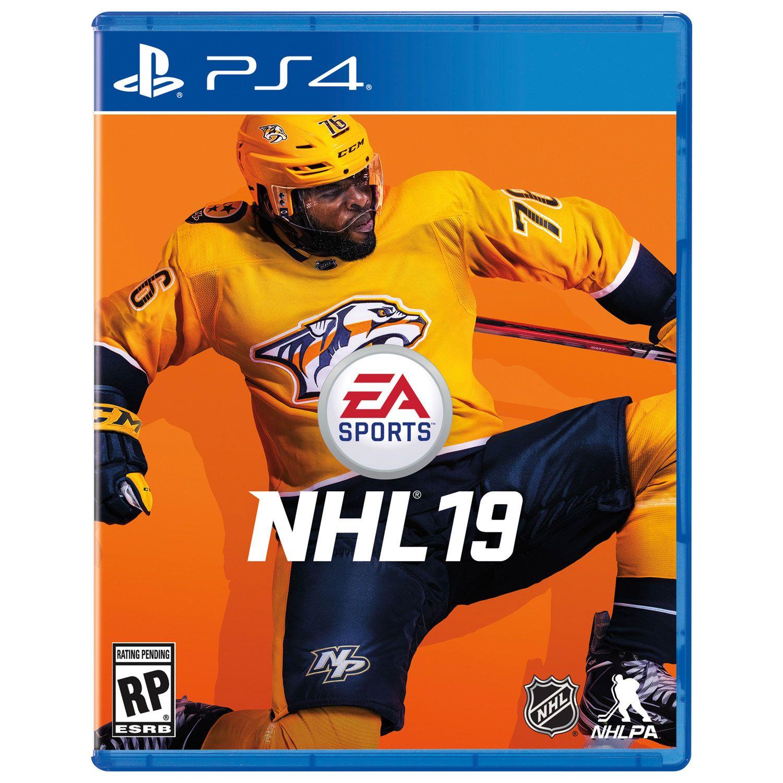 Nhl 19 (ps4) Ps4 games, Nhl, Playstation