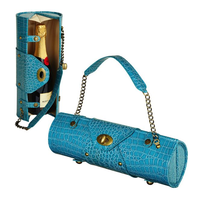Turquoise Wine Purse More Wineaccessories And Bags At