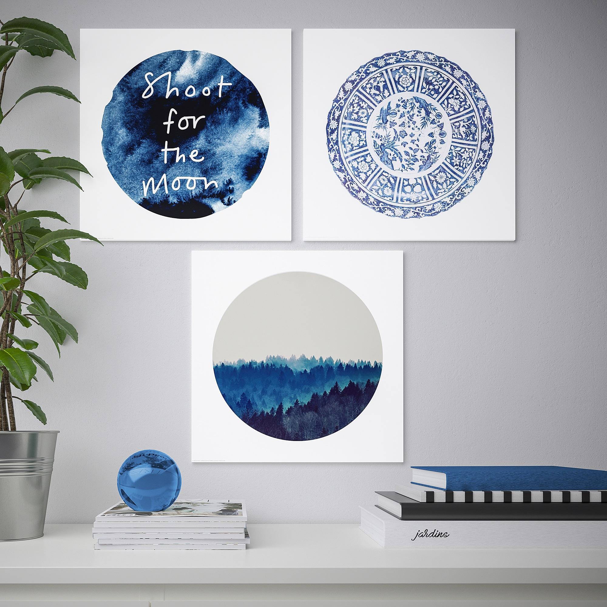 PJÄTTERYD Bild Blauer Mond IKEA Österreich Blue moon