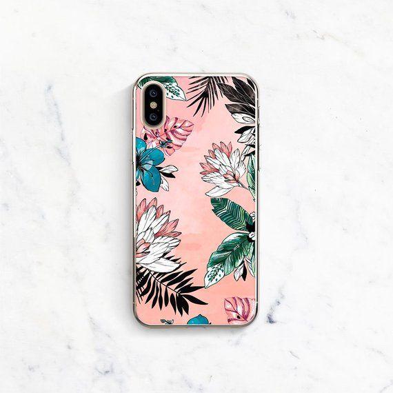 Iphone 7 Case Flowers Iphone 8 Plus Case Floral Iphone X Case